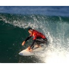 Surfista en el Billabong Pro-Mundaka del 20007