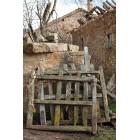 Fotografía de puertas viejas de madera