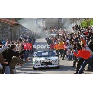 Giuseppe Volta en el Rallye Legend Rutas Cántabras 2009