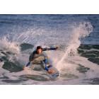 Surfista en la Playa de Zarautz