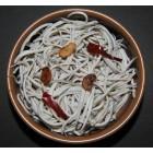 Fotografía de angulas en cazuela
