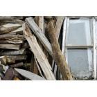Fotografía de estacas y ventana