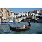 Fotografía de góndola en el Gran Canal de Venecia